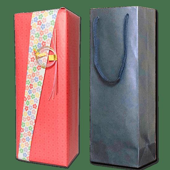 きちんとしたい贈り物や、人生の節目にふさわしい有料ラッピング(専用袋あり)